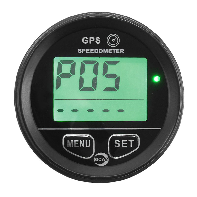 60mm 12V / 24V GPS Digital Speedometer Odometer Gauge Car Motorcycle ATV Marine Boat Truck+Mounting Bracket motorbike Accessory цена