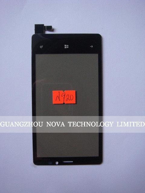100% Гарантия Дигитайзер Для Nokia lumia 920 Дигитайзер Стекло Сенсорного Экрана Частей; Бесплатная Доставка