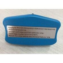 GC41 chip resetter for Ricoh SG3100 SG2100 SG2010L SG3110dnw cartridge