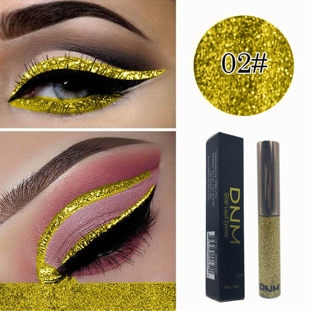 Colorful Glitter Liquido Eyeline Liquido Diamante Eyeliner Luminoso Brillante Perlato Occhio Fodere per Le Donne Cosmetici di Bellezza
