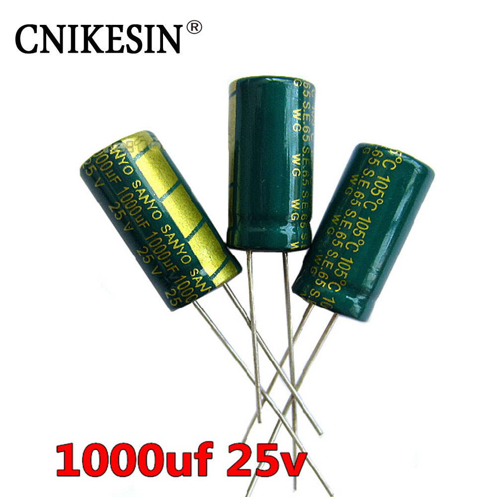 1000uf 25v High Frequency Lcd Motherboard Capacitor Low