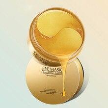 60 Pcs 24K Gold Crystal Collagen Eye Mask Eye Patches Eye Ma