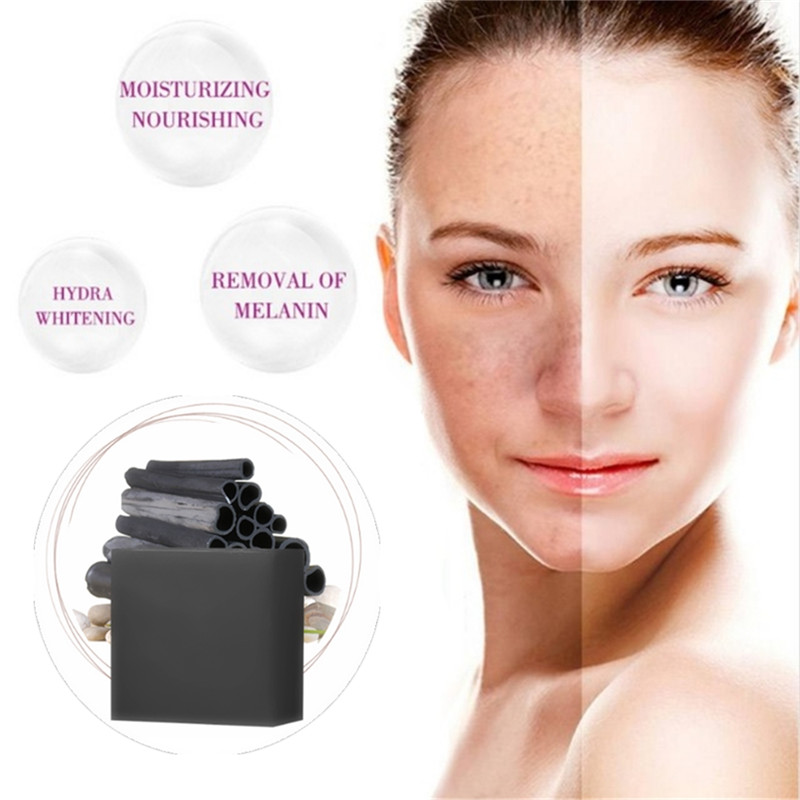 1Pcs Herbal Bamboo Charcoal Whitening Moisturizing Face Soap Skin Care Whitening Ageless Acne Treatment Anti Winkles Lift Beauty