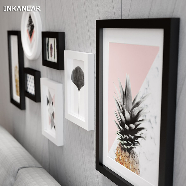 Large Photo Frames Modern Pineapple Officestorehome Wall