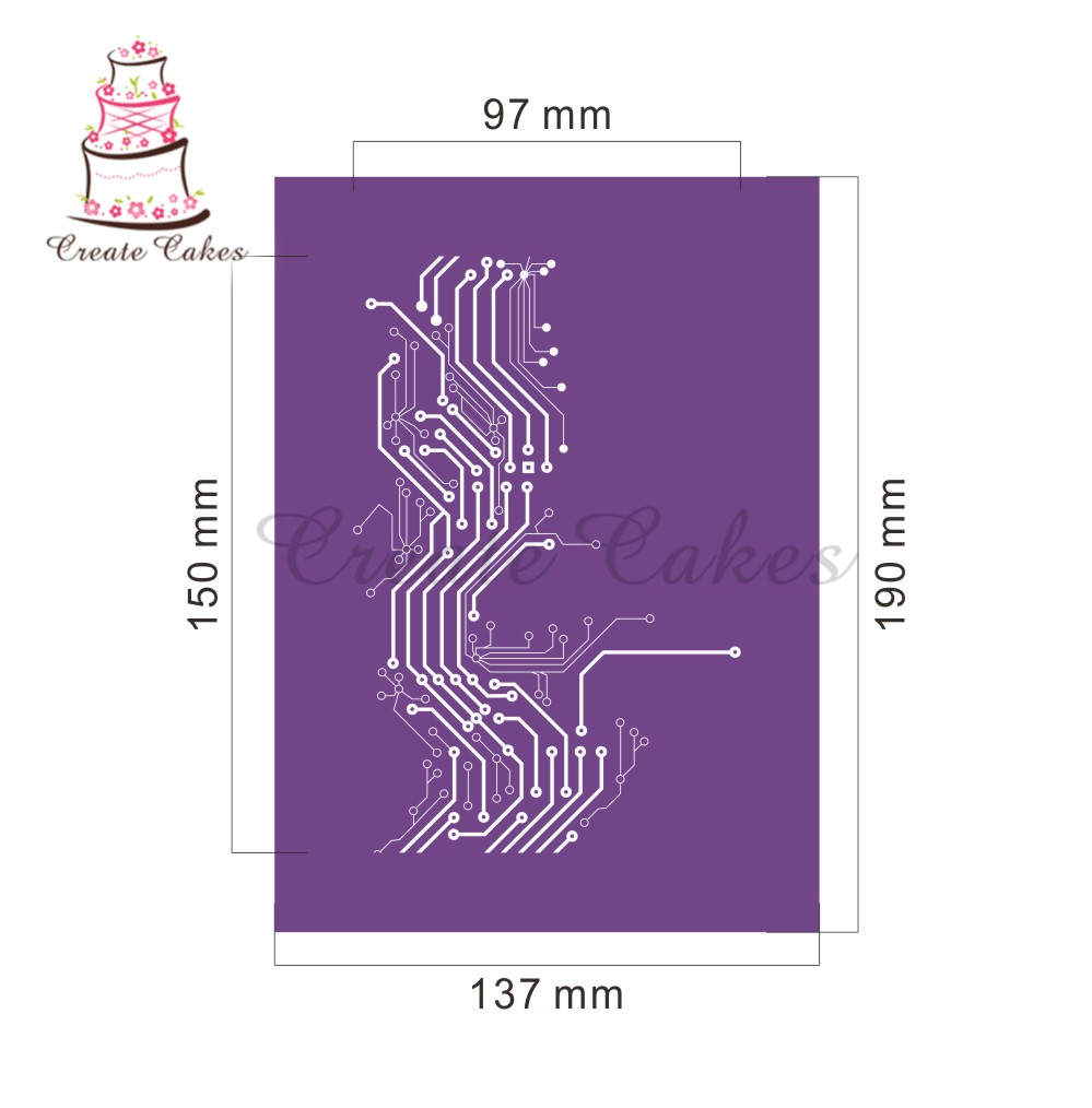Htc Desire C Circuit Diagram New Cake Mesh Stencil For Design Fondant Lace Mold Fabric Stencils Decorating Mst 30