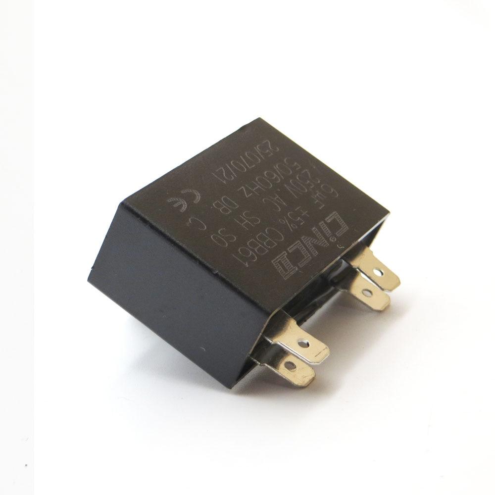 Home Initiative 6 Uf 250 V Cbb61 Motor Run Kondensator Decke Motor Fan Starten Auspuff Lüftungs Klimaanlage Kondensator 250vac 6mf 6mfd Durchblutung GläTten Und Schmerzen Stoppen