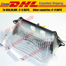 motorcycle partsClear LED Tail Light Turn Signal for 1998-2005 Super Hawk VTR1000 VTR1000F