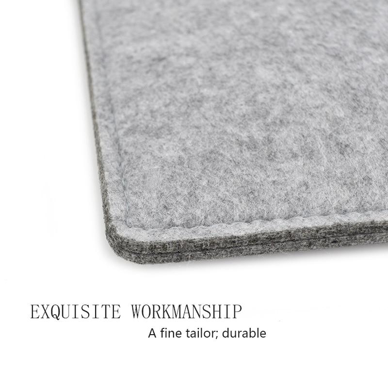 Wool Felt ноутбук қаптамасы Macbook үшін Air Pro - Ноутбуктердің аксессуарлары - фото 3