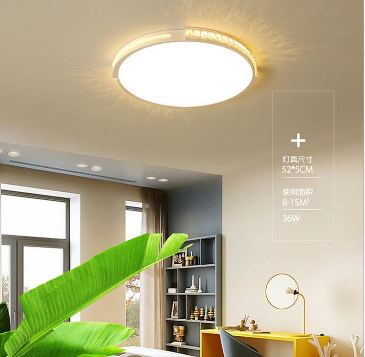 Bulat Plafon Lampu Slim Desain Ruang Keluarga Minimalis Modern, Lampu Led  Kamar Tidur Ruang Tamu Lampu Belajar Lampu Led Furniture Lampu Led|Lampu  Langit-langit| - AliExpress