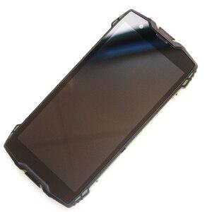 Image 3 - 5.7 Blackview BV6800 شاشة الكريستال السائل + محول الأرقام بشاشة تعمل بلمس + الإطار الجمعية 100% الأصلي LCD + اللمس محول الأرقام ل BV6800 برو