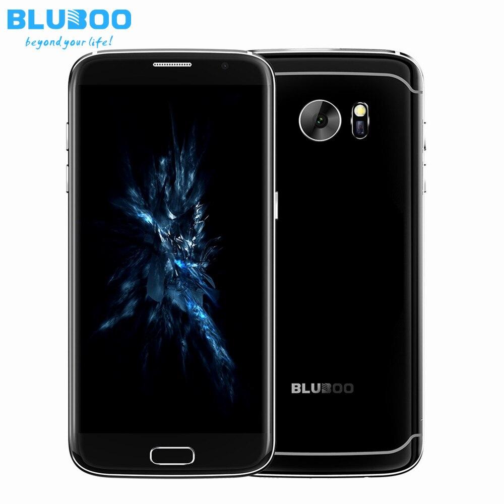 Цена за BLUBOO Край 5.5 ''HD Quad Core 4 Г Смартфон Android 6.0 2 Г RAM 16 Г ROM 1280*720 8MP Отпечатков Пальцев Разблокировать Мобильный Телефон