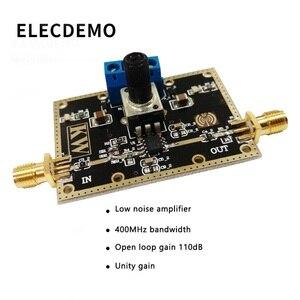 Image 2 - Moduł OPA842 moduł wzmacniacza o niskim poziomie szumów pasmo 400MHz wzmocnienie pętli otwartej 110dB wzmocnienie jedności stabilna funkcja płyta demonstracyjna