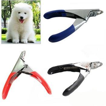 Cortador de uñas para pies para mascotas cortaúñas para perros gatos pájaros conejillo de indias tijeras para garras de animal cortado