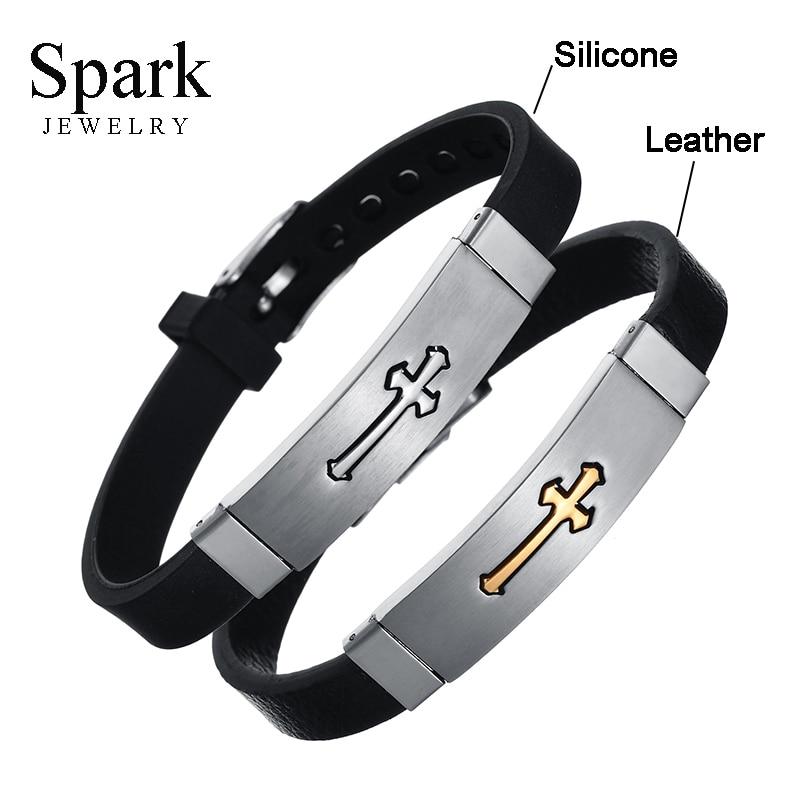 Wrap Bracelets Men Party Silicone