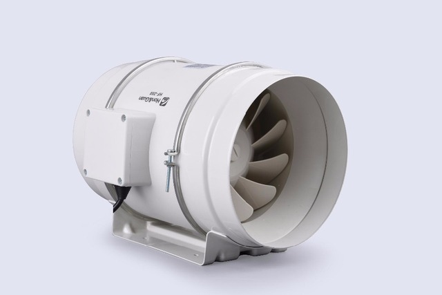 Wholesale Hon U0026 Guan 6inch HF 200P Ventilation System Mixed Flow In Line  Duct Fan