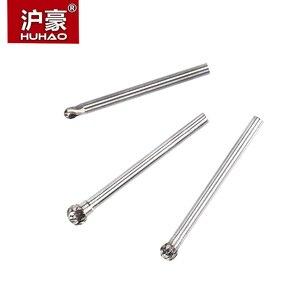 Image 3 - HUHAO 1 шт. 3 мм хвостовик Вольфрамовая карбоновая стальная резьба для шлифования металла, вращающийся цилиндрический Фрезер для полировки металла