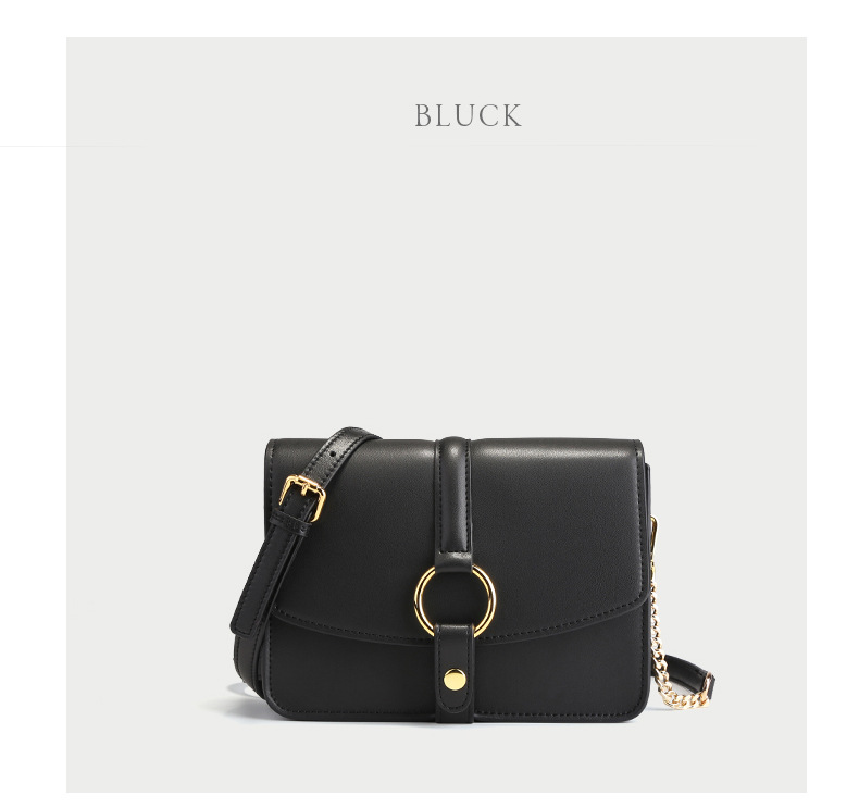 f5d20dd1cdf3 ZXW 2019 Fashion New Flap bag Small fashion crossbody bag with metal circle  new arrival shoulder bag Split Leather Messenger bags for women
