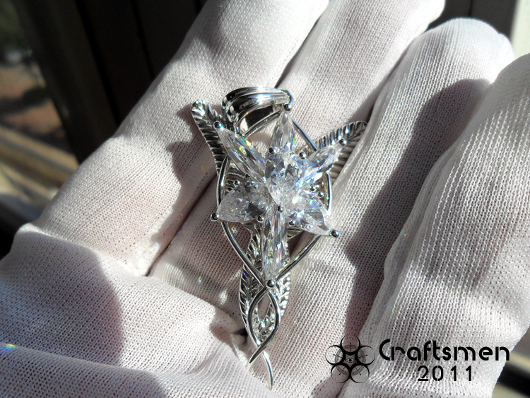 Craftsmen 925 sterling silver the lotr arwen evenstar elf pendant craftsmen 925 sterling silver the lotr arwen evenstar elf pendant fairy princess pendant free with silver chain in pendants from jewelry accessories on aloadofball Gallery