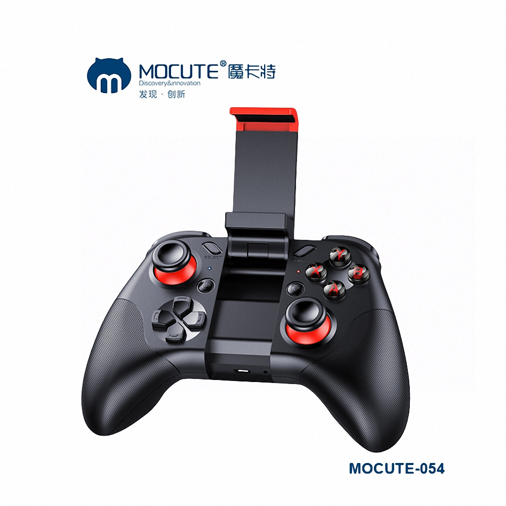 Mocute 054 Bluetooth Gamepad Crystal Button Android Joystick PC Wireless Remote Controller Game Pad for Smartphone
