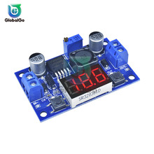 цена на 5pcs/Lot 2A DC DC LM2596 Input 4.0-40V Output 1.25-37V  dc-dc Step-down Power Supply Regulator Module LED Digital Voltmeter