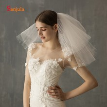 with Multi-Layer Wedding Tulle