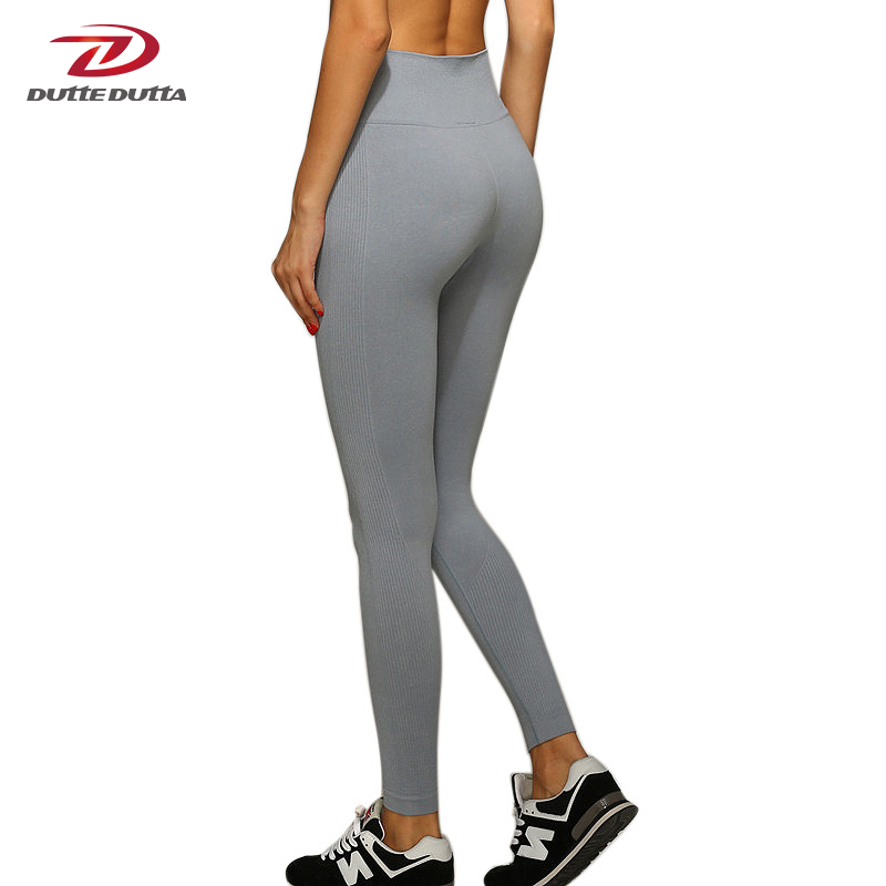 Women Yoga Pants High Elastic Fitness Sport Leggings
