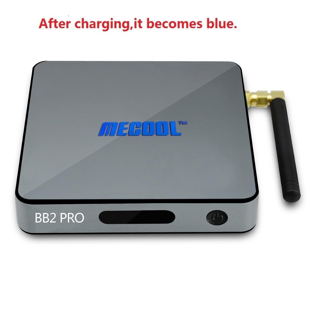 MECOOL BB2 Pro Smart TV Box Android TV Box Amlogic S912 64 bit 3GB 16GB 4K WiFi BT4.0 2.4G/5.8G Wifi Set-top Boxes