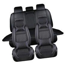 Из искусственной кожи автомобильной универсальный автомобильный Чехлы для сидений мотоциклов комплект сиденья Аксессуары для Mazda 3 Mazda 6 CX5 CX7 323 626 M2 carstyling