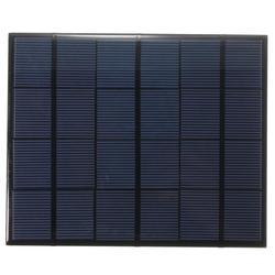 BUHESHUI 3.5 W 6 V polikrystaliczne ogniwo słoneczne Moduł panelu słonecznego DIY ładowarka słoneczna System do 3.7 V epoksydowa 165*135 MM 3 sztuk