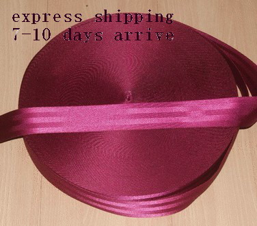 100 meters Roll Seat Belt Webbing Safety Strap Maroon Color 48mm Wide 5 Bars ...