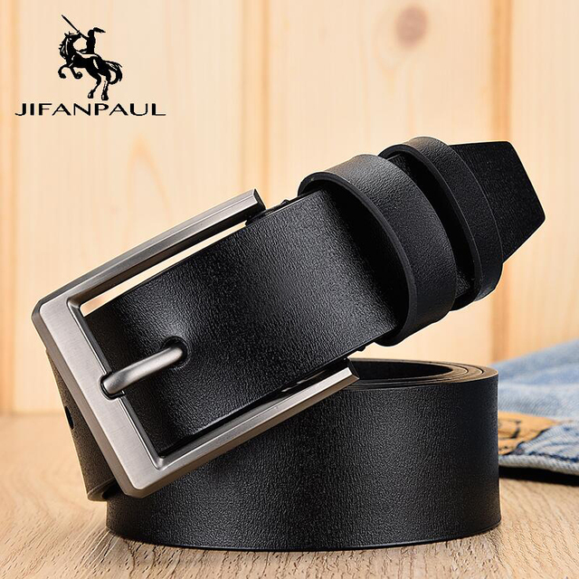 Leather fashion modern youth jeans decorative high quality belt 3