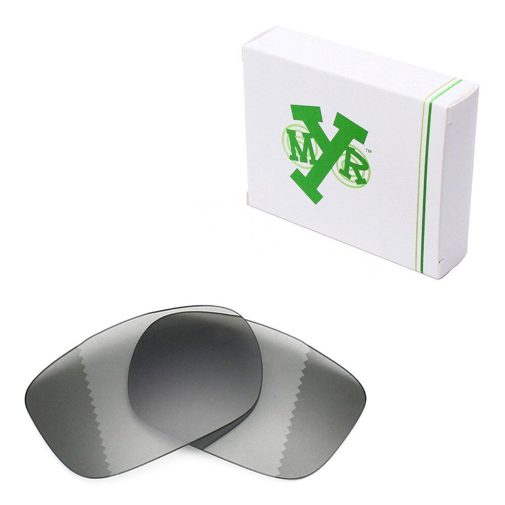 Mryok polarizado Objetivos para Oakley twoface Gafas de sol fotosensibles  grises b356946e80