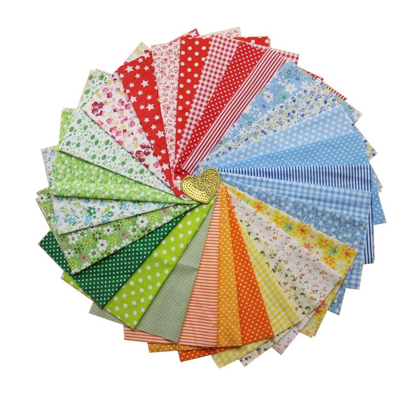 confección material de la tela artesanal Plain 100/% Cotton sólido 28 Colores