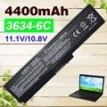 6 cells Laptop Battery For Toshiba PA3634U-1BAS PA3634U-1BRS PA3635U-1BAM PA3635U-1BRM PA3636U-1BAL PA3636U-1BRL PA3638U-1BAP