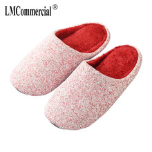 New Indoor Soft bottom home fabric cotton slippers couple warm anti-slip autumn winter thick bottom male and female cotton drag home floor cute couple cotton slippers winter love indoor slippers heart soft bottom keep warm cotton mop wear comfortable