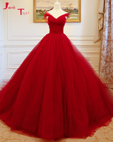Jark Tozr Custom Made Pleat Gorgeous Ball Gown Wedding Dresses With Petticoat 2018 Plus Size Alibaba