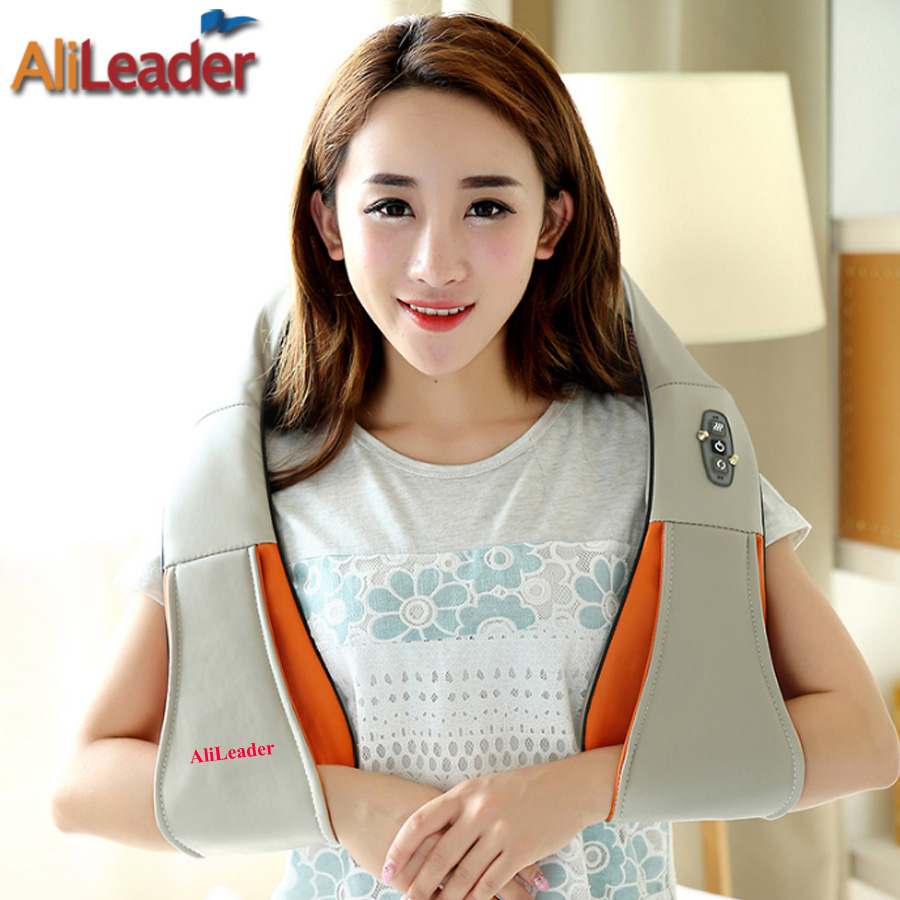 Elder And Student All Applicable Full Body Electric Massager, Family Health Care Muscle Stimulator Massage Shawls Massage Pillow 2017 hot sale mini electric massager digital pulse therapy muscle full body massager silver