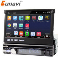 Eunavi 7 Universal Single 1 Din Android 6 0 Quad Core Car DVD Player Stereo GPS