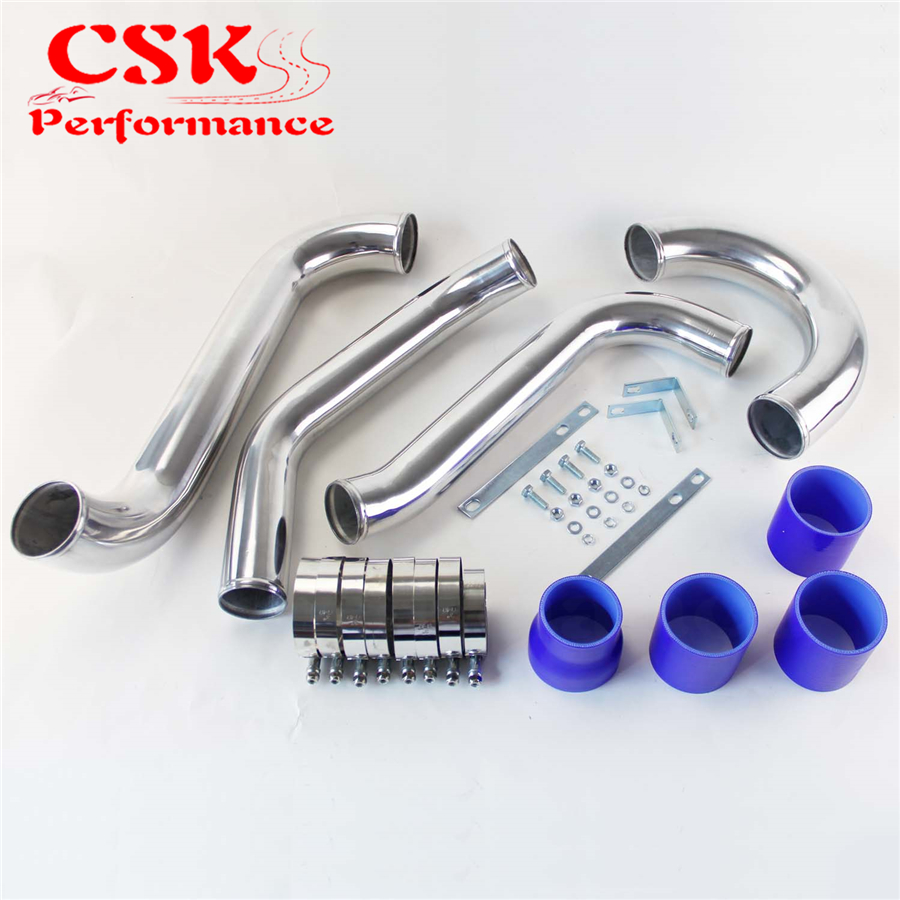 Alloy Intercooler Piping pipe Kit Fit For Toyota SUPRA JZA80 TURBO 2JZ GTE Black / Blue / Red