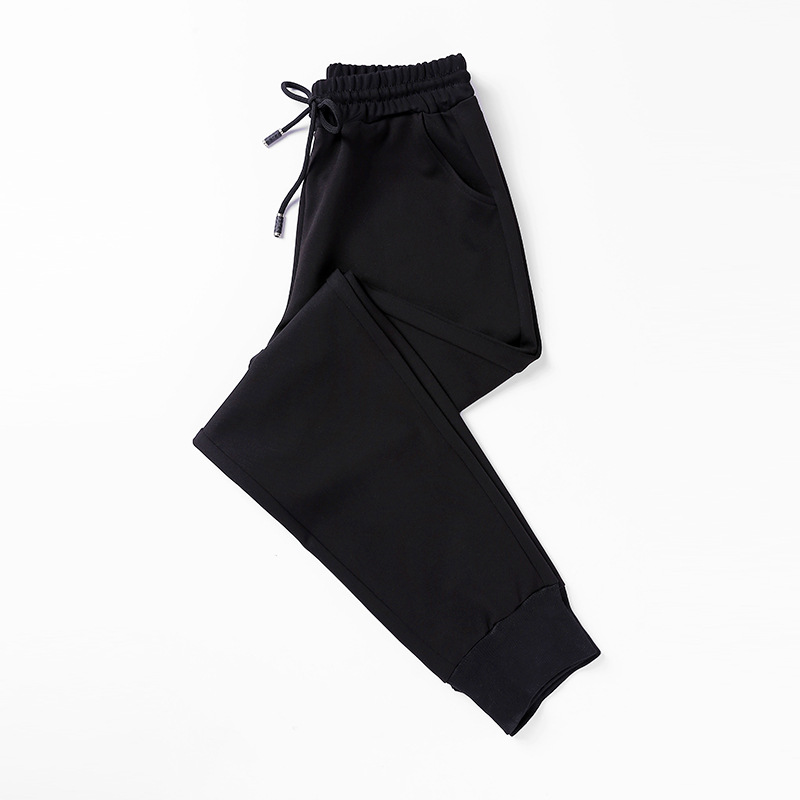 2020 Top Fashion Women Hip Hop Pants Women Black Casual High Waist Pants Drawstring Loose Trousers Pantalon Femme Sweatpants New