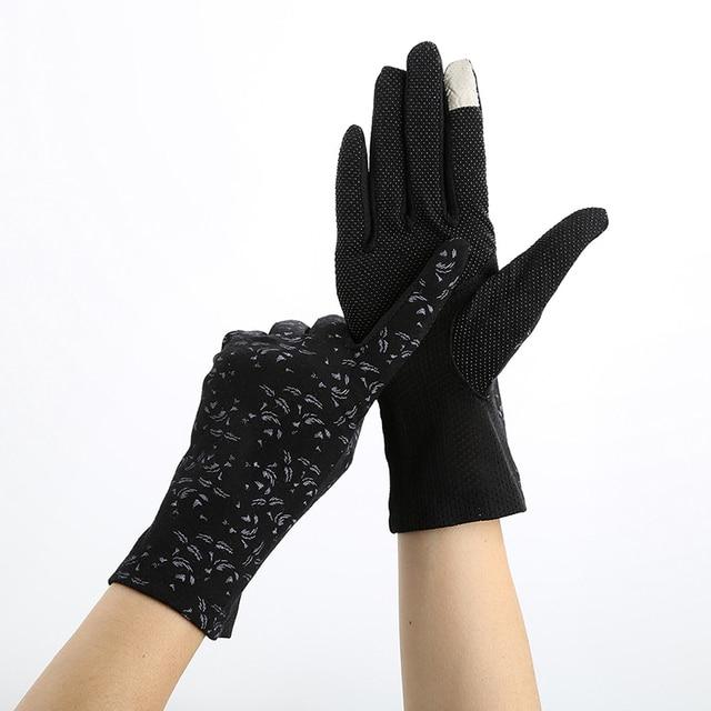 Ladies Pink Gloves Summer...