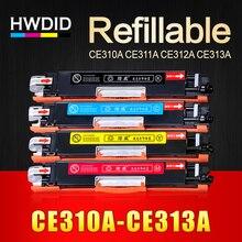 1 шт. CE310A CE311A CE312A CE313A Совместимость Цвет тонер-картридж 126A для HP LaserJet CP1025 CP1025nw M275mfp M175a M175nw