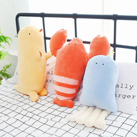 Creative Lobster Jellyfish Plush Toy Stuffed Marine Animal Soft Plush Doll Birthday Gift Send to Children