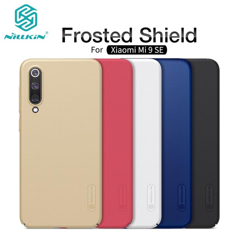 Nillkin super fosco caso de telefone para xiao mi 9se duro pc fosco capa protetora traseira para xiao mi 9se 9se caso capa de negócios