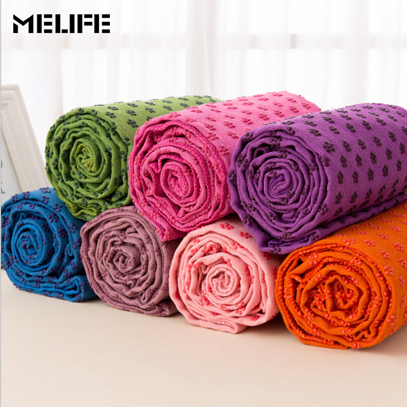 MELIFE Travel Yoga Mat Pilates Women Sport Gym Fitness Bodybuilding Exercise Cover Camping Blanket Sports Soft Towel 183x63cm