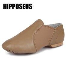 321b7744b2 Salão de baile Sapatos de Jazz Profissional Unisex Tênis De Dança Tap  Sapatos de Dança Latina para As Mulheres Homens Crianças T..