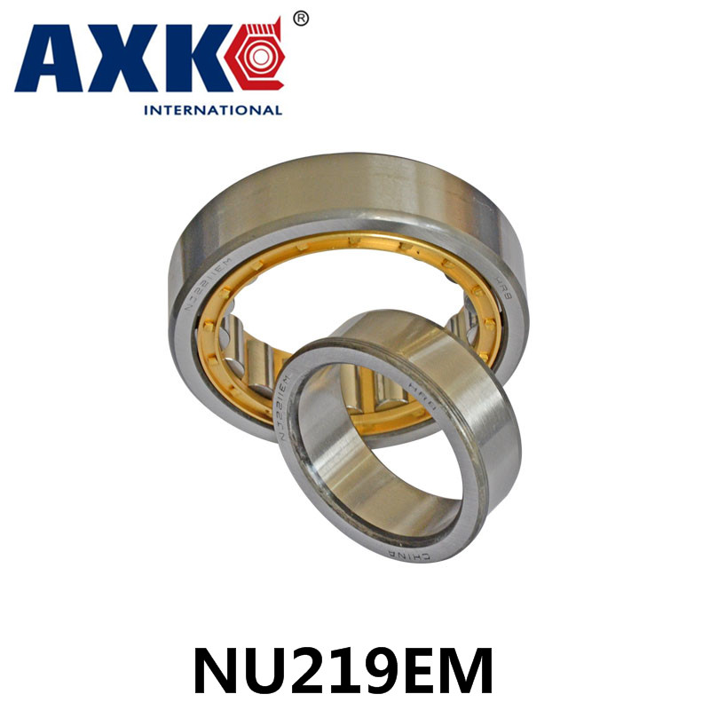 Axk Bearing Nu219em Cylindrical Roller Bearing 95*170*32mm
