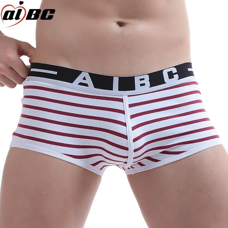 AIBC 3 Pcs/Lot  Men's Boxer  Underwear Wholesale New 2017 Underwear Men Cotton Mens Bodysuit Underwear