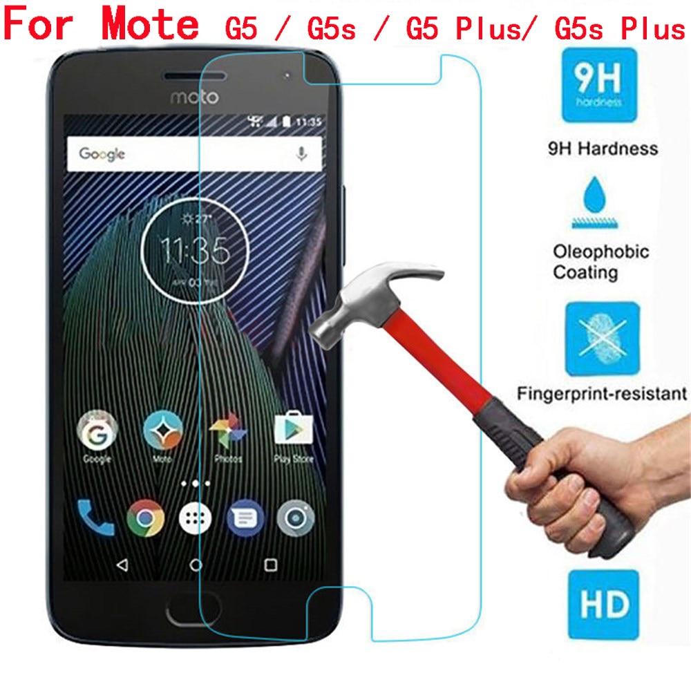 For Motorola G5 Tempered Glass New 9H Explosion-proof Screen Protector Glass Film For Moto G5S Plus For Motorola G5Plus G5 S