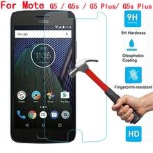 цена на For Motorola G5 Tempered Glass New 9H Explosion-proof Screen Protector Glass Film For Moto G5S Plus For Motorola G5Plus G5 S